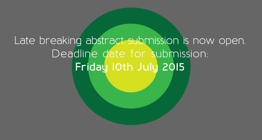 Deadline date - Monday 13th April 2015
